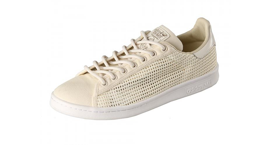 adidas stan smith woven beige