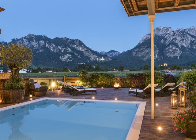 Luxusauszeit Nahe Schloss Neuschwanstein Hotel Allgau Schloss Neuschwanstein Fussen Hotel