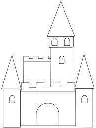 image regarding Printable Castle Template identified as castle craft template - Google Appear moldee Castle