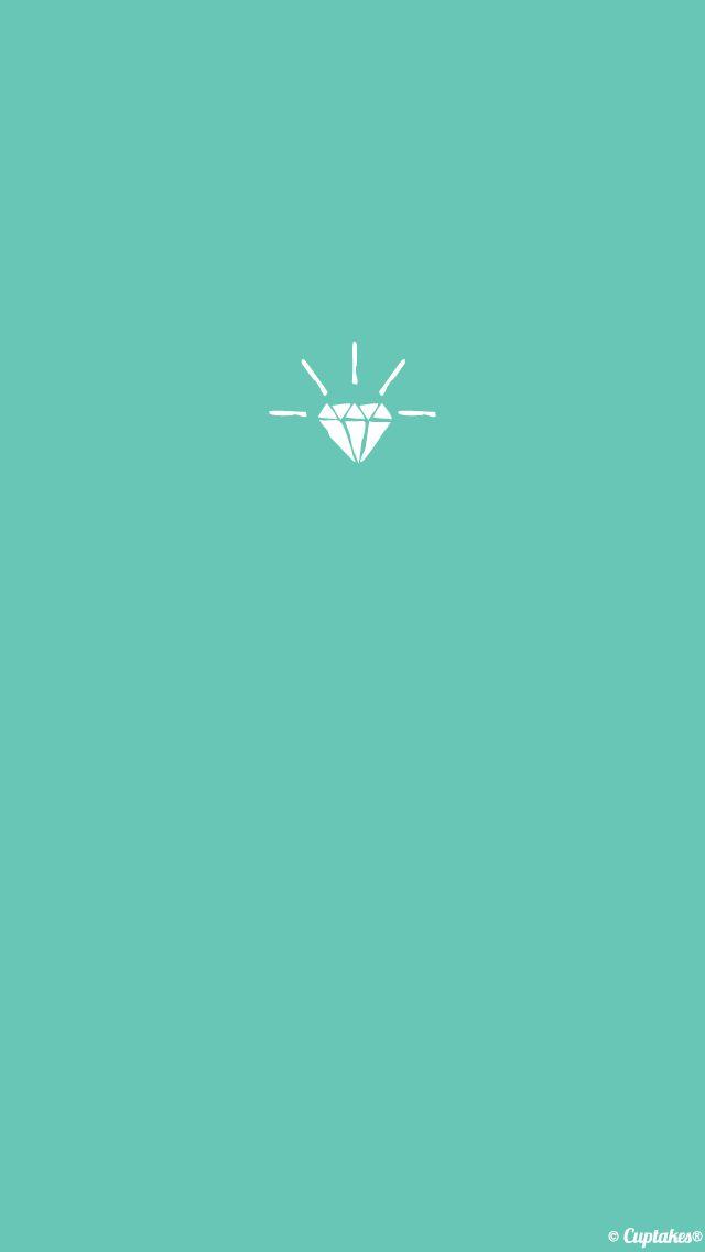 Minimal jade green Gem jewel iphone wallpaper phone ...
