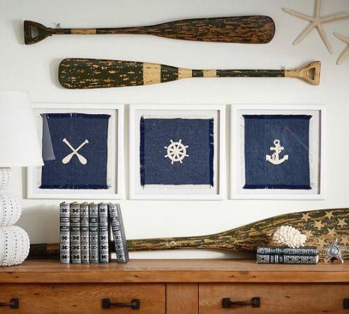 Shop Decorative Oars Oar Wall Decor Hook Racks More Oar Decor Nautical Decor Decor