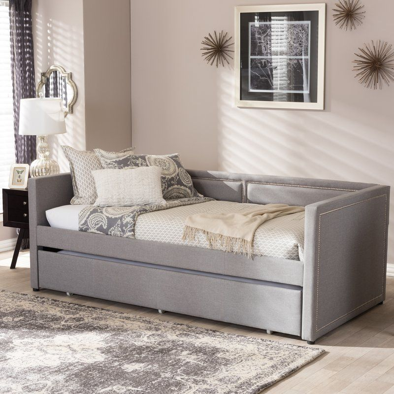 Glennis twin daybed with trundle in 2019 pe as divan for Cama divan con cajones
