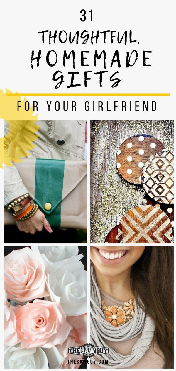 51 Thoughtful, Homemade Gifts for Your Girlfriend ...