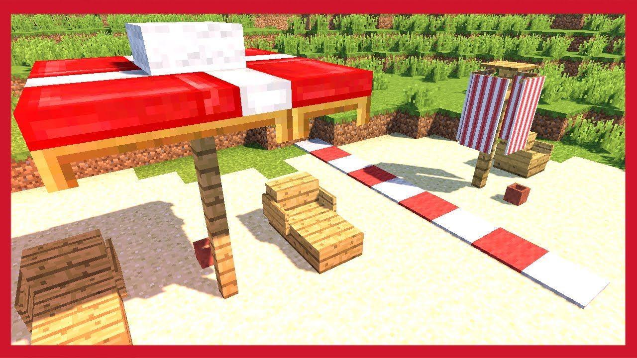 Come Fare Un Ombrellone.Minecraft Come Fare Un Ombrellone Minecraft Ombrellone