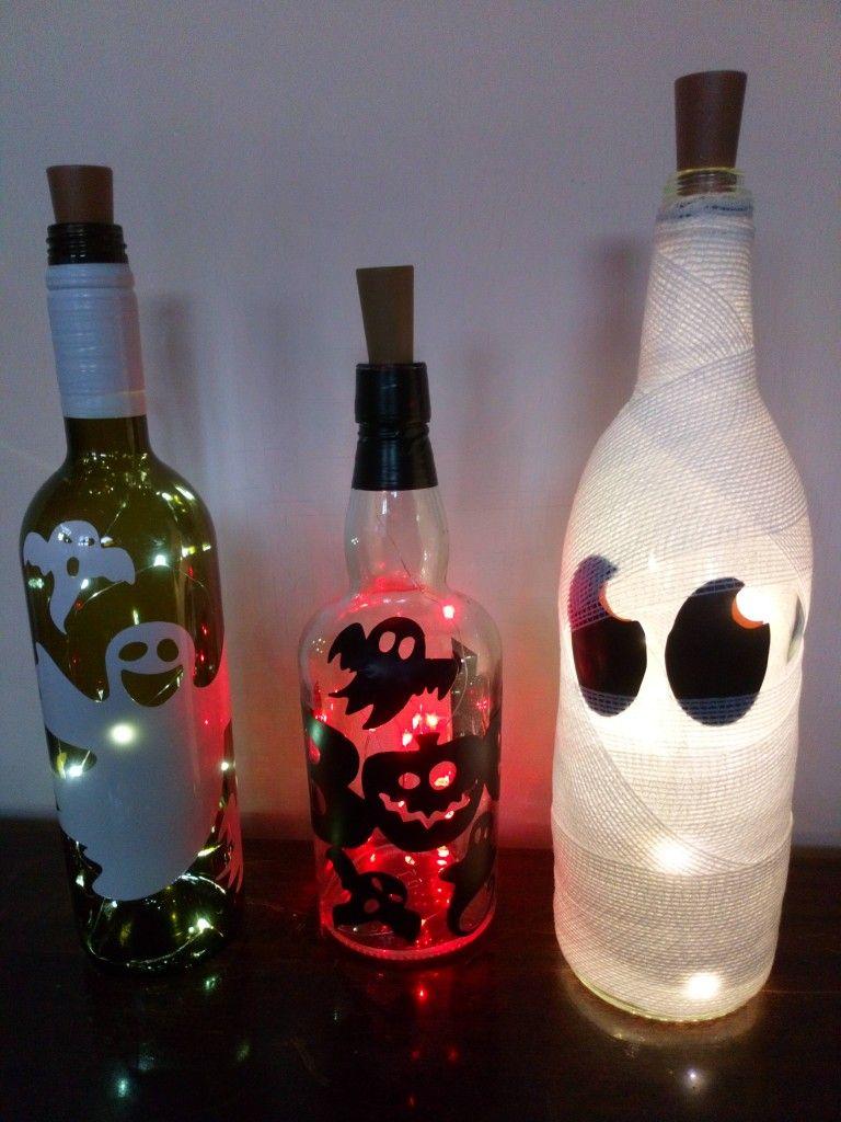 Pin By Debbie Lightcap On Paper And Felt Bottles Decoration 3d Box Frames How To Make Light