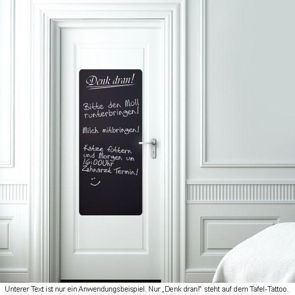 Erinnerung Tafelfolie - Deko Tafel Kreide Folie Kreidetafel - folie für küchenfront