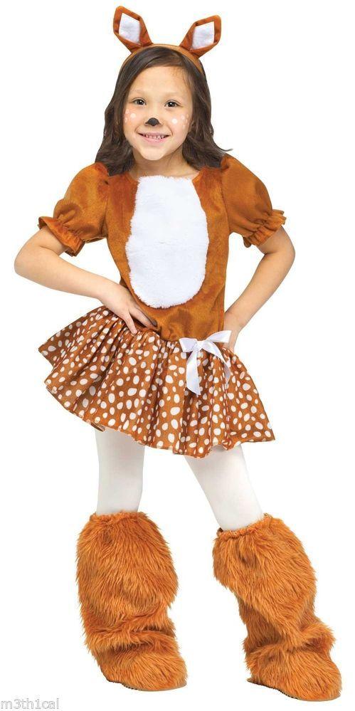 Fun World Oh Deer Dress Child Costume 123182