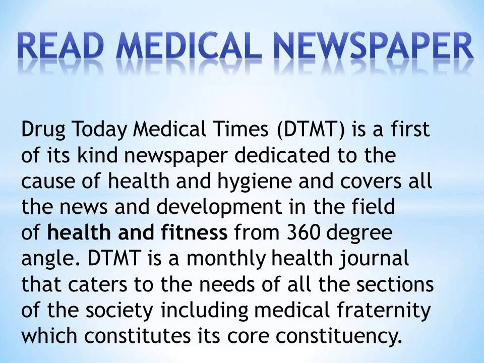 Online Health Newspaper In India Latest Medical New Latest Medical News Medical News Health Journal