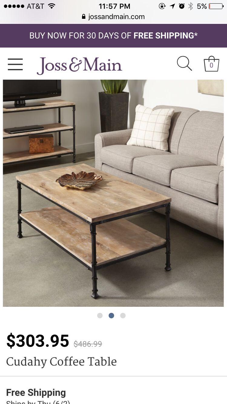 Https Www Jossandmain Com Cudahy Coffee Table Tadn2447 Tadn2447 Html Coffee Table Table Stylish Coffee Table [ 1334 x 750 Pixel ]