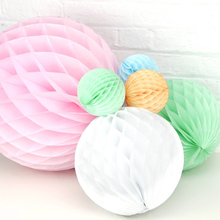 Paper Ball Decorations Pastel Paper Ball Decorations  Ball Decorations Paper Balls And