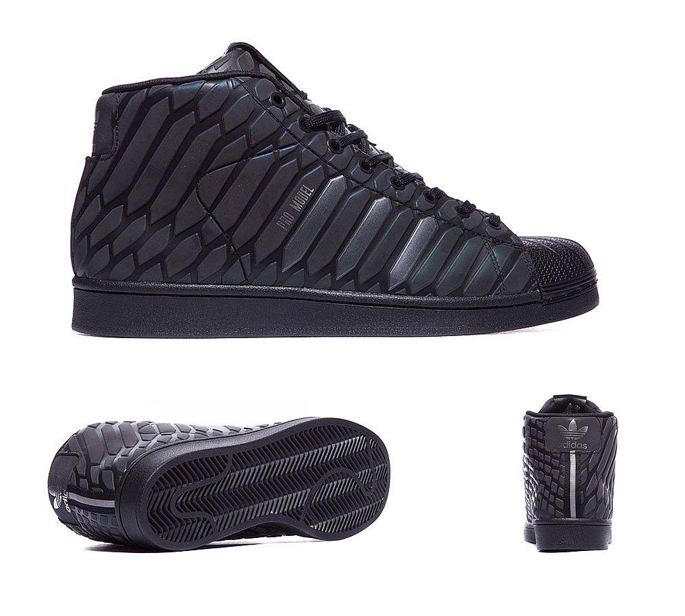adidas Originals Pro Model 'Xeno Pack' Trainer | Black | Footasylum
