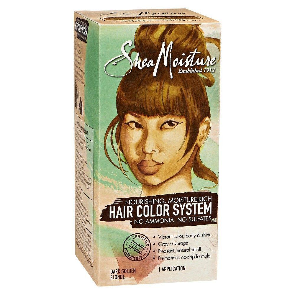 Sheamoisture Moisture Rich Ammonia Free Hair Color System Dark