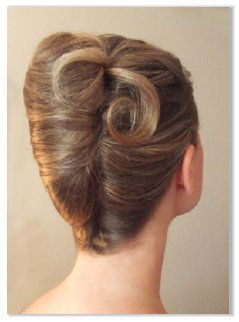 Classic French Roll Long Hair Styles French Twist Hair