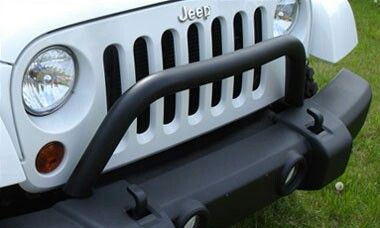 Simple Grill Guard For Stock Bumper