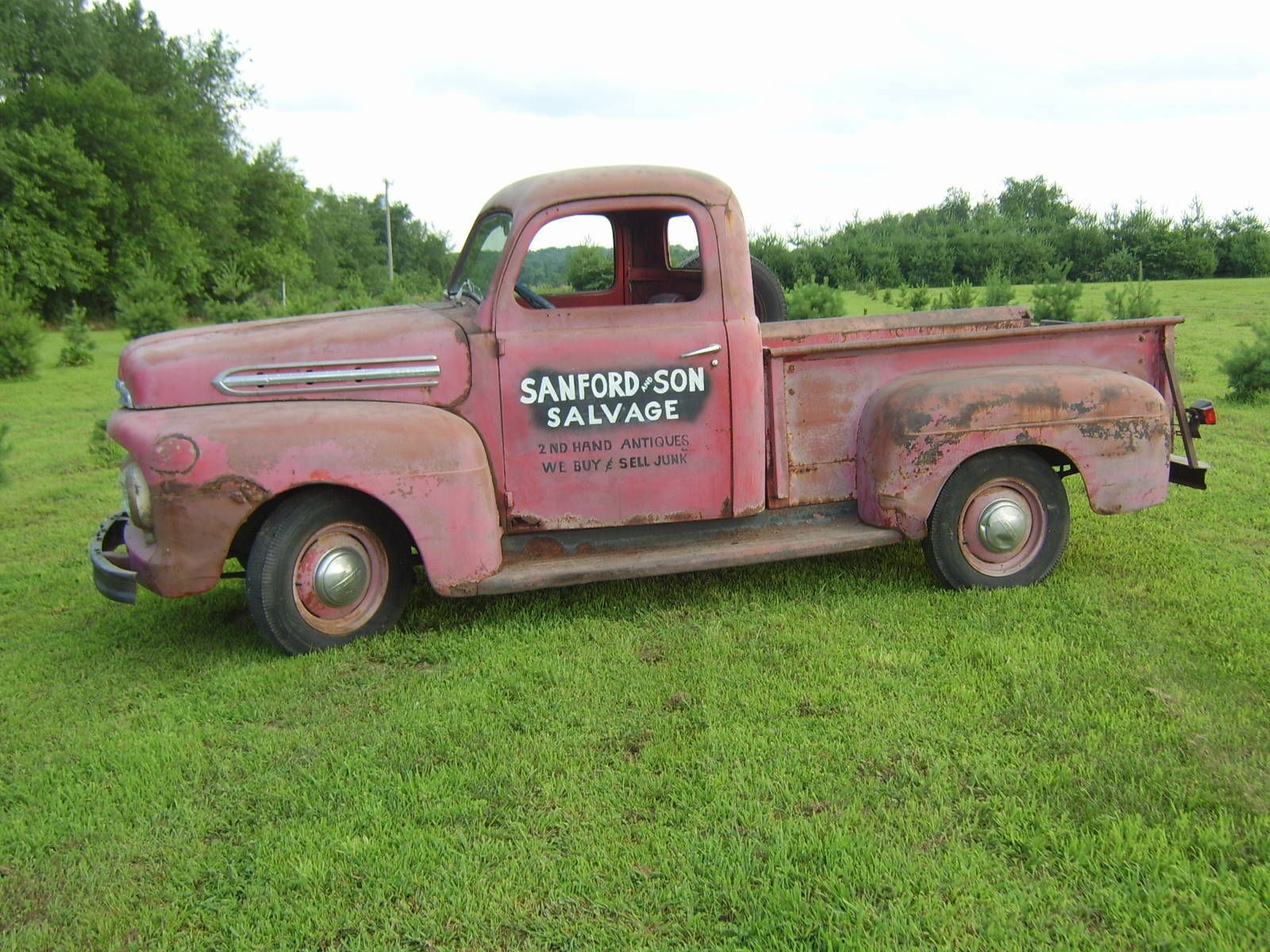 """Ace Auto Salvage >> The """"Real"""" Sanford & Sons '51 for sale Ford Truck ..."""
