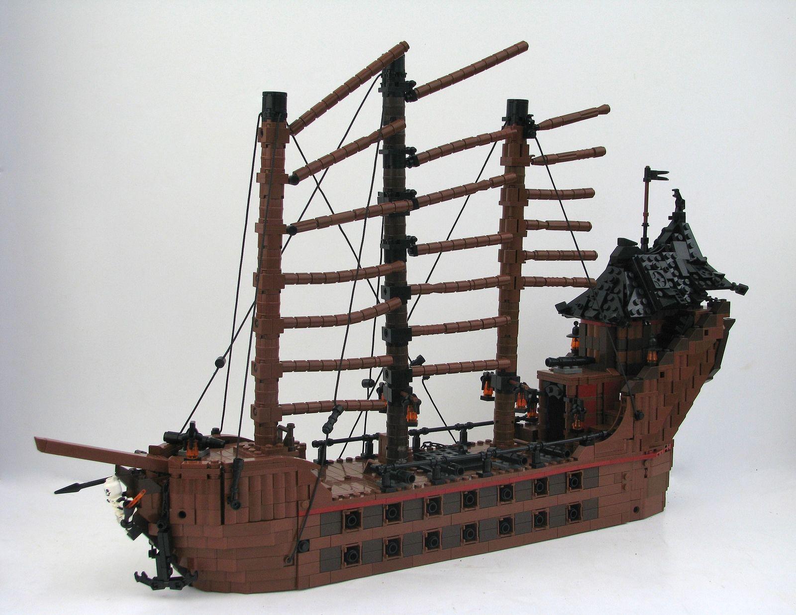 die besten 25  lego piratenschiff ideen auf pinterest