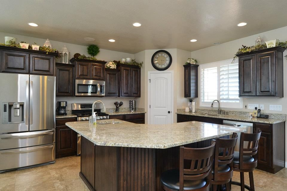 corner kitchen island the hollister 3800 kitchen built in weber county utah 11157