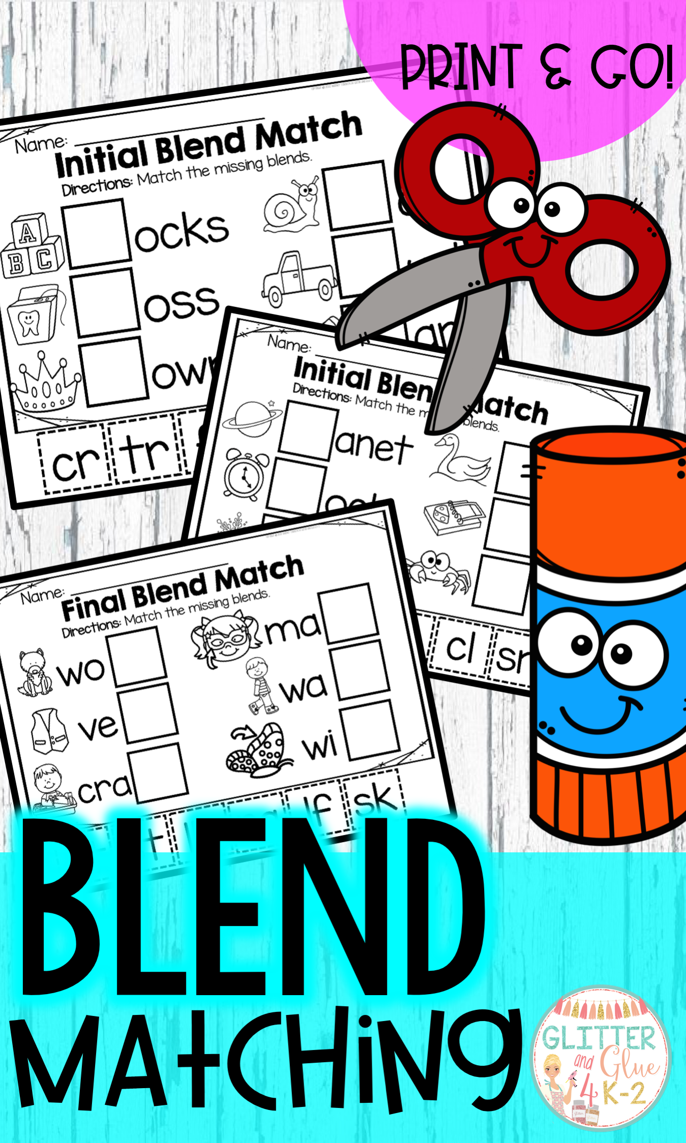 Blend Matching Initial And Final Blends In
