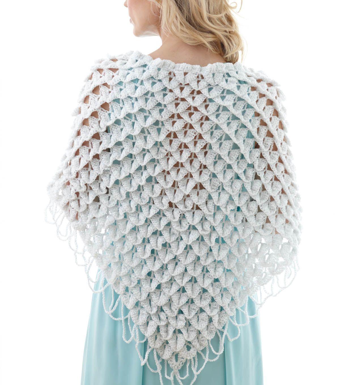 Bridal Shawl at Joann.com | Crochet wedding, Shawl crochet ...