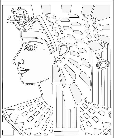 ancient civilizations - Egyptian Coloring Pages Printable