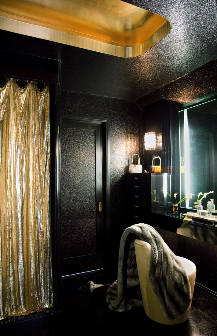 A Glamorous Hollywood Dressing Room from Alexandra Loew ...