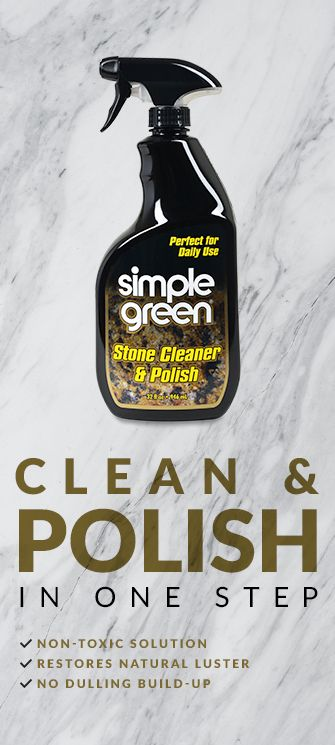 Simple Green Stone Cleaner Polish