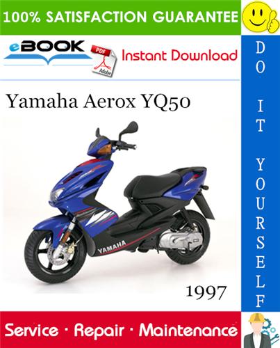 1997 Yamaha Aerox Yq50 Scooter Service Repair Manual Repair Manuals Yamaha Repair