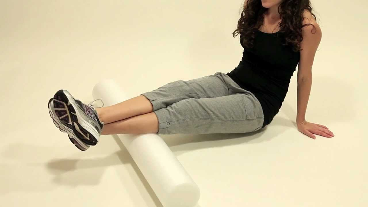 Leg Exercise - How to Foam Roll Your Calf Muscles