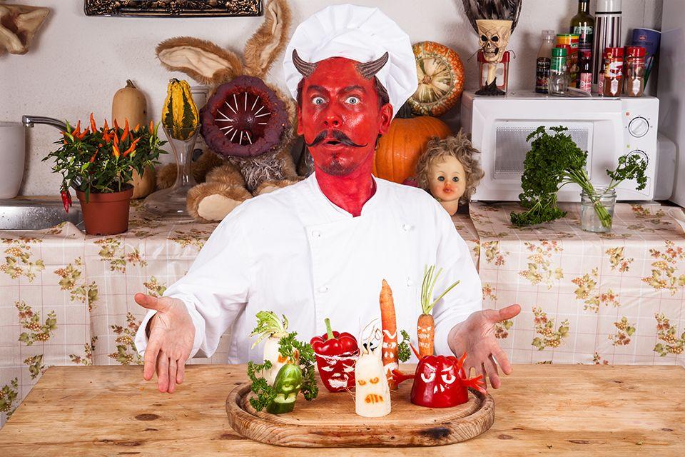 Rezept Gemüsegeister (mit Bildern) Halloween rezepte