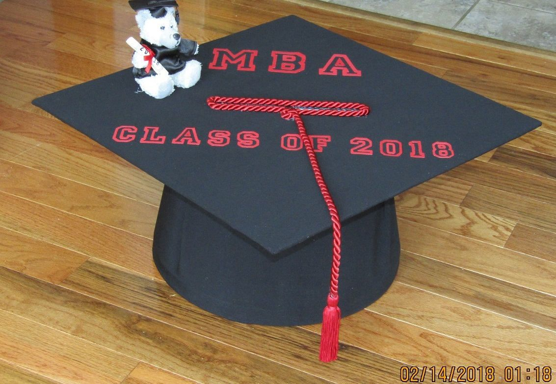 "Unique Graduation Card Box ""Class of 2018"" Decorations"