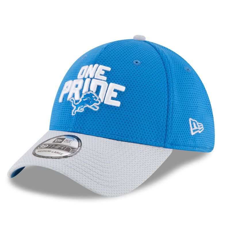 quality design 1747b 055c6 Detroit Lions New Era 2018 NFL Draft Spotlight 39THIRTY Flex Hat – Blue Gray