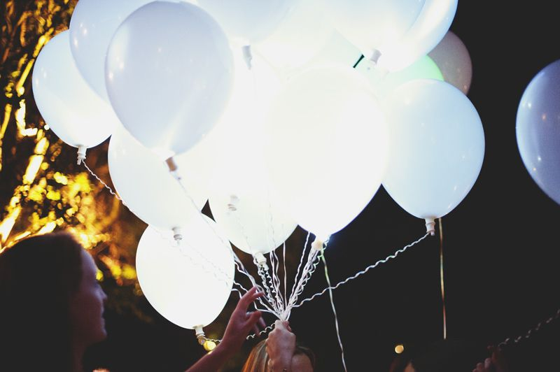 1000 images about ballon on pinterest led led balloons and ballon dor - Ballon Phosphorescent Mariage