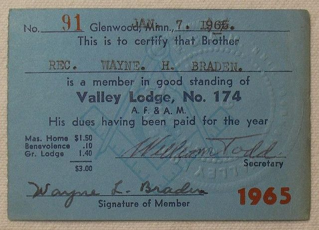 1965 benevolent order of masons lodge 1960s membership card member card freemason vintage cards script business cards card ideas lipsense business cards script typeface visit cards reheart Image collections