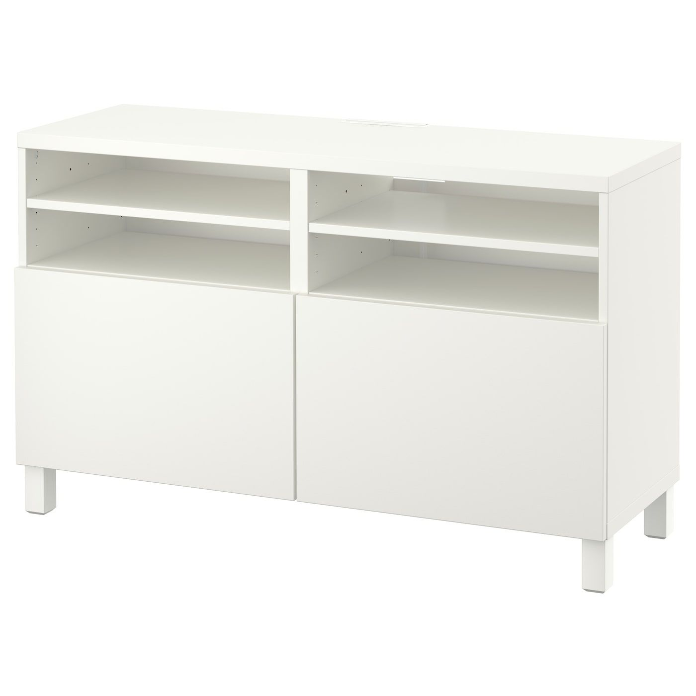 Ikea Besta Tv Unit With Doors Lappviken White Lappviken Stubbarp Tv Unit White Tv Unit Tv Cabinet Ikea