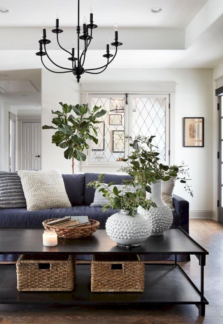 Modern farmhouse living room decor ideas livingroomfurnituretable