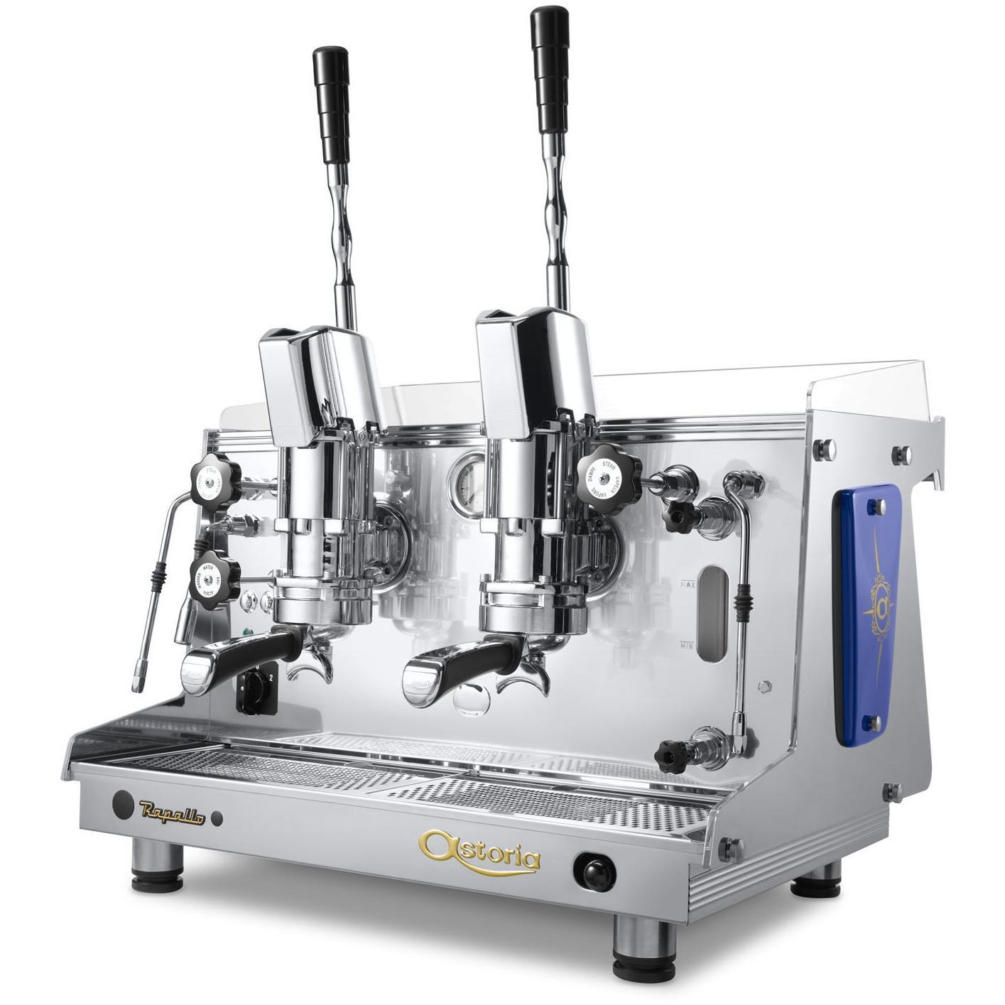 astoria rapallo piston lever operated 2 group espresso coffee machine gas kit al 2. Black Bedroom Furniture Sets. Home Design Ideas