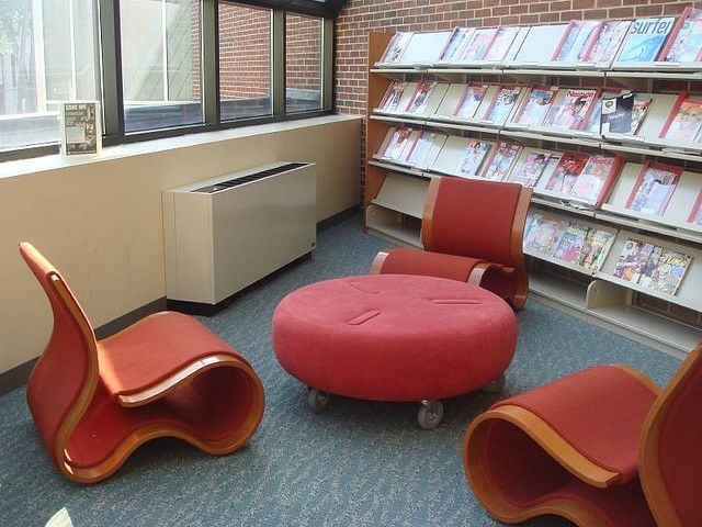 Teen Zone Magazines, Ocean County NJ | by informationgoddess29 Mobile seating, ottomon/table, 1 & 1/2 person wide chairs