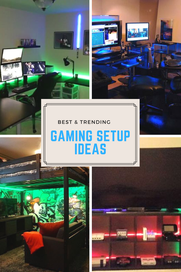 best trending gaming setup ideas #ideas #ps4 #bedroom #xbox