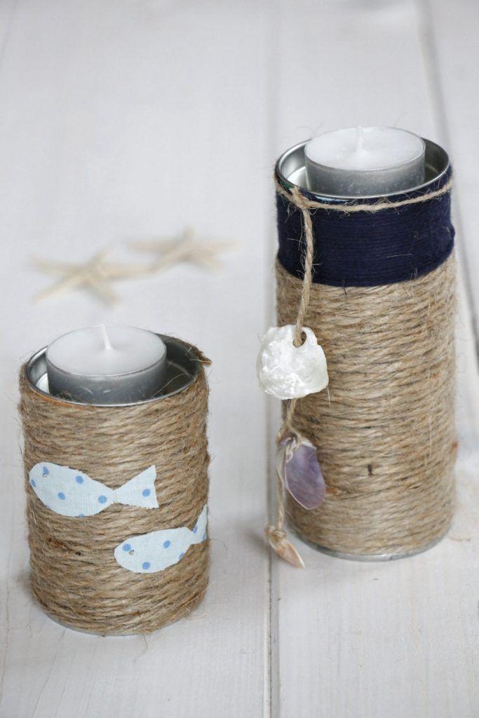 Anzeige Upcycling Idee Kerzenhalter Aus Leeren Dosen Von Kneipp