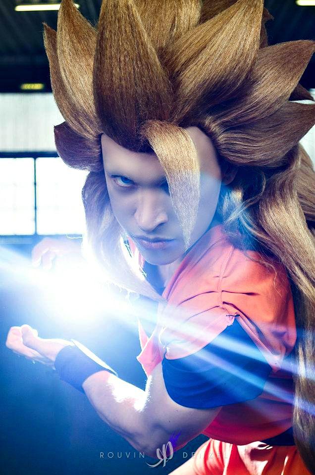 Son Goku Ssj3 The Power Of Kamehameha Son Goku Goku Dbz Cosplay