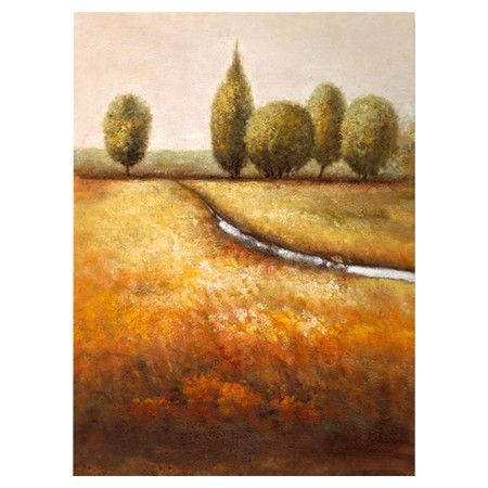 Found it at Wayfair - In the Country II Canvas Art by Joval