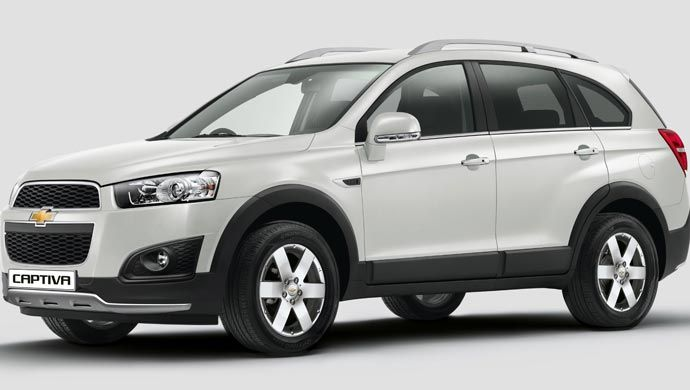 Gm India Launches My 15 Chevrolet Captiva For Rs 25 13 Lakh