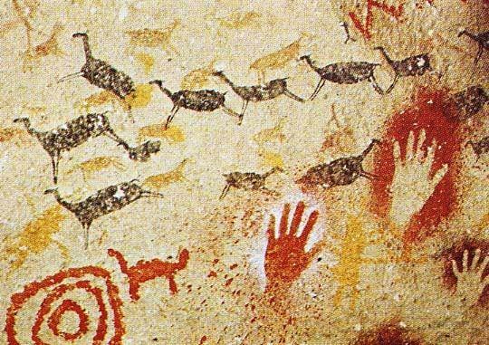 Cave of Altamira M.Ö. 16000-9000 yılları arasında yapıldığı tahmin edilen resimler Kuzey İspanya dağlarındaki mağ… | Arte de la prehistoria, Arte rupestre, Rupestre