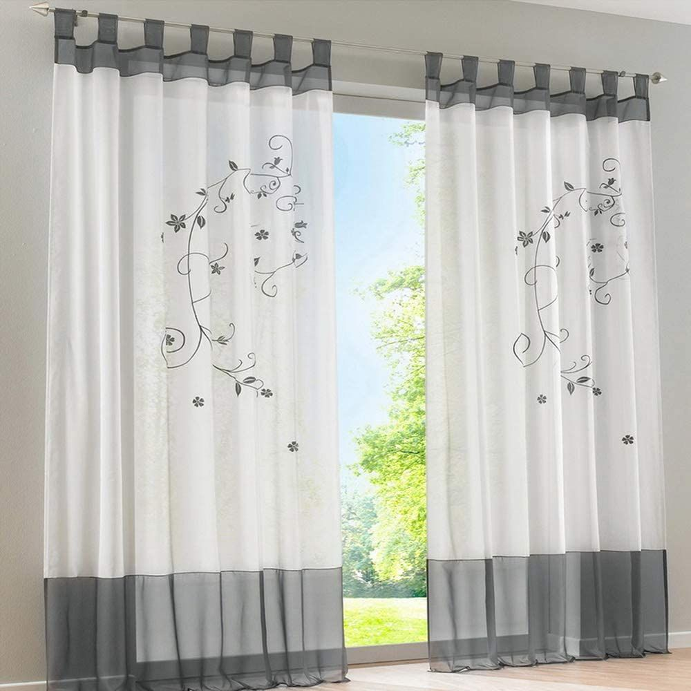 Schlafzimmer Vorhänge Grau