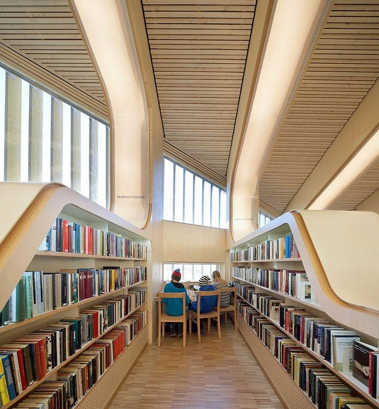 Library Design vennesla-library-and-culture-house-norway-best-libraries-product