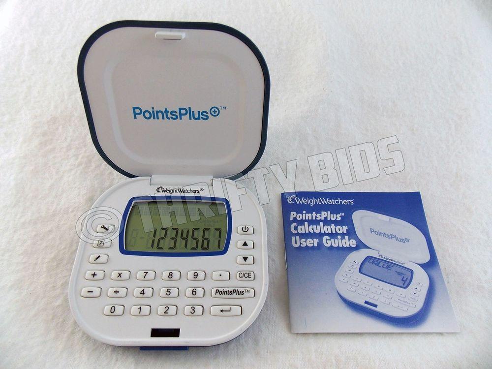 weight watchers nac 4a pointsplus calculator compact size user rh pinterest com weight watchers points plus calculator manual weight watchers pro points calculator user manual