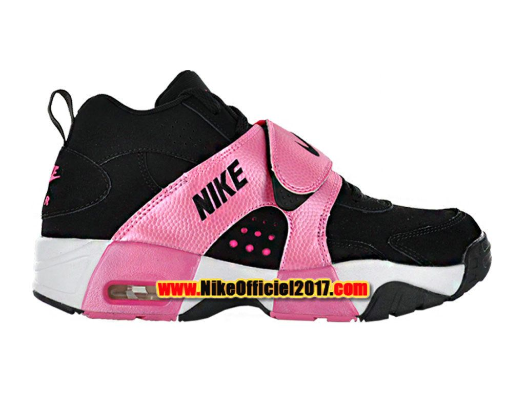 the latest 6a1da f0a40 Nike Air Veer GS Chaussures Nike LifeStyle Pas Cher Pour Femme Noir Rose  599213-