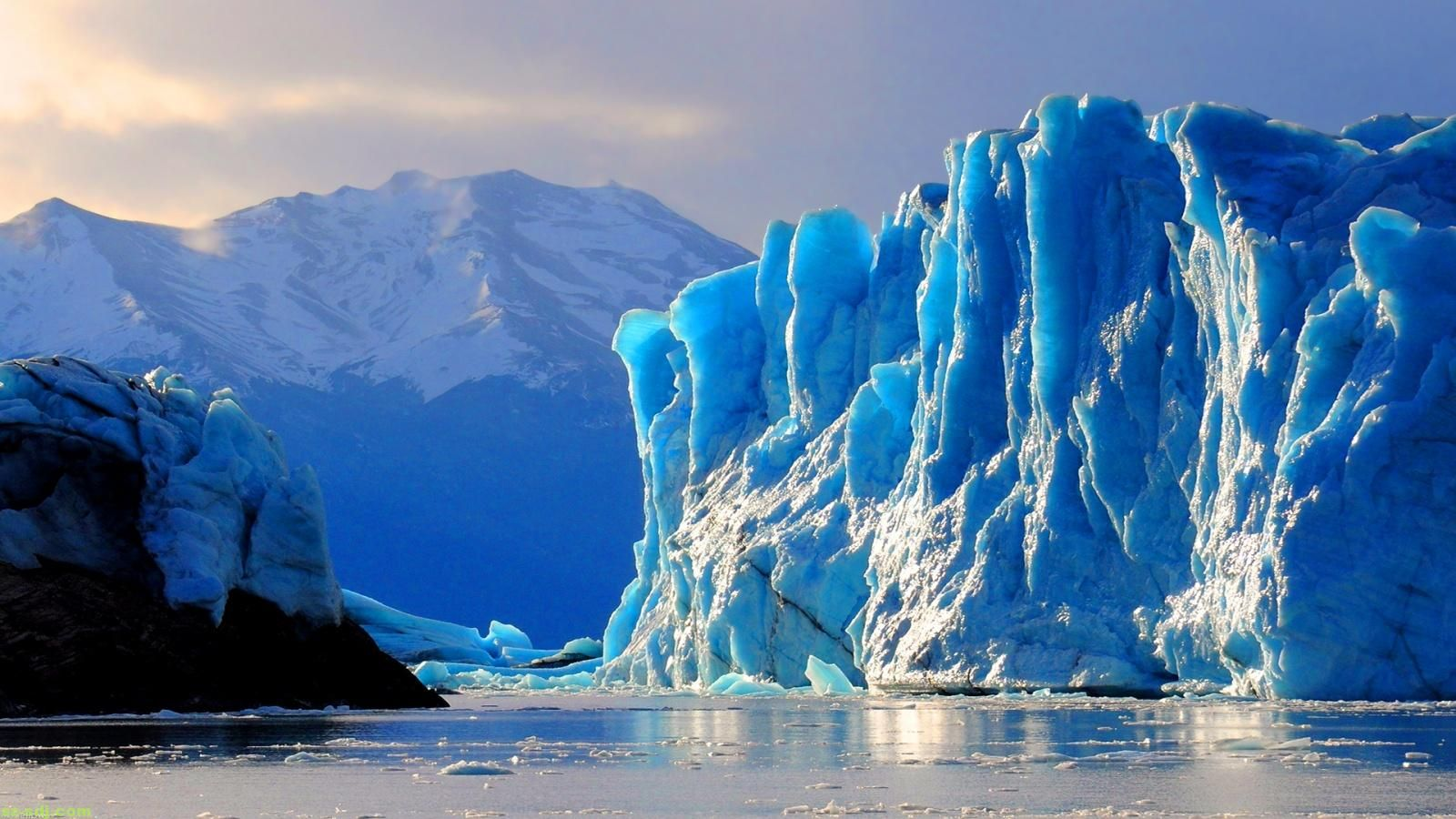 Bleue Glacier : Ice glaciers file name blue glacier wallpaper