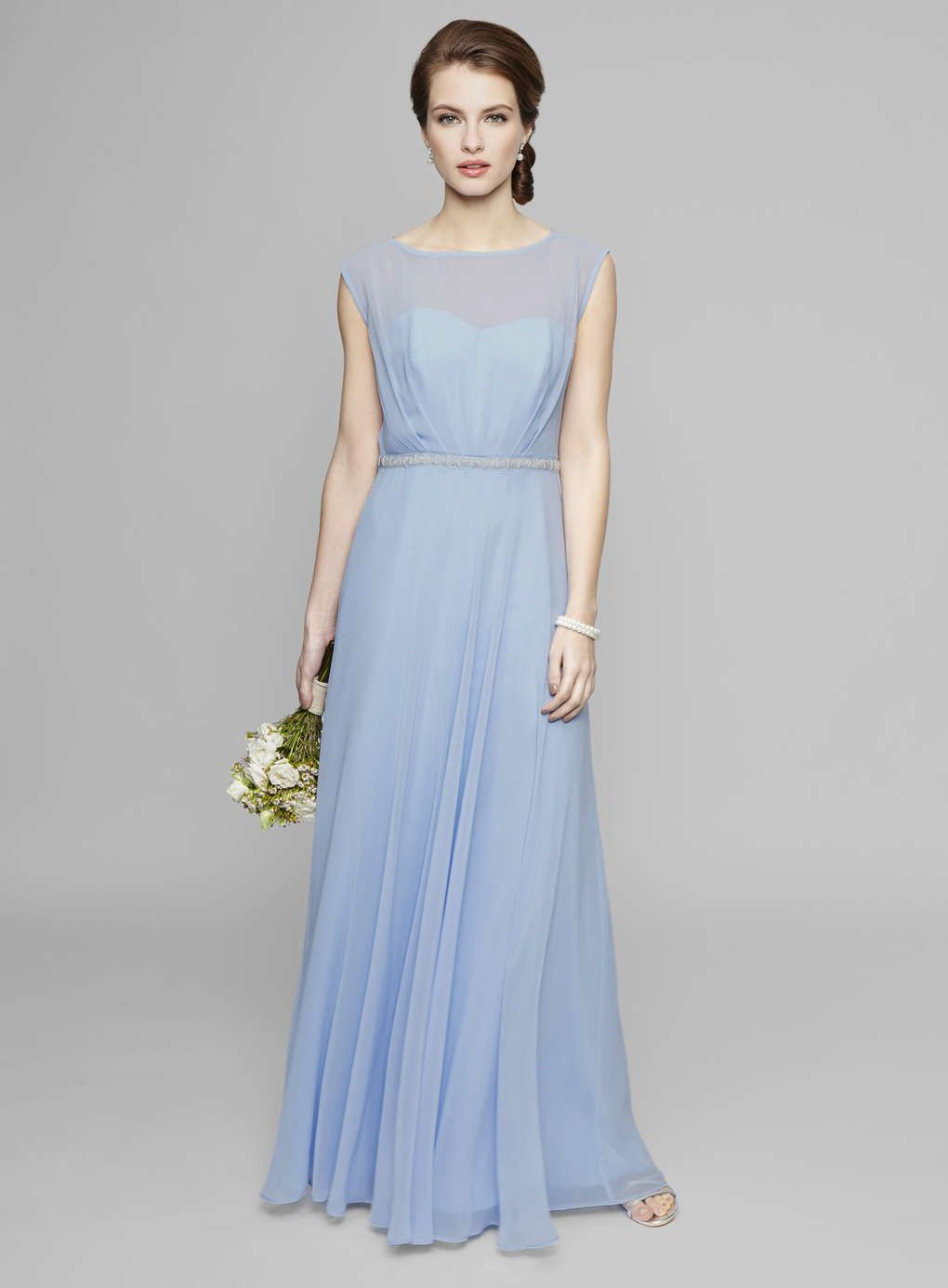 Wedgewood Pale Blue Primerose Bridesmaid Dress - BHS | Chris and ...