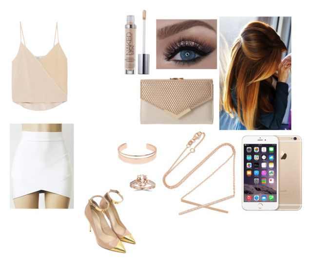 """Untitled #500"" by lovemahone74 ❤ liked on Polyvore featuring Chelsea Flower, Balmain, Leith and Carbon & Hyde"